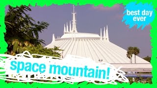 space mountain ride reactions stuck in the middle   wdw best day ever