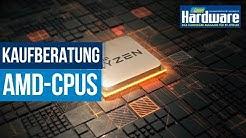 AMD-CPU Kaufberatung | Die besten Prozessoren für jeden Geldbeutel