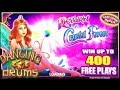 ✦ MAX BET ✦ LIVE PLAY ✦ BONUS ✦ RETURN TO THE CRYSTAL FOREST ✦ DANCING DRUMS ✦ SLOT MACHINE ✦