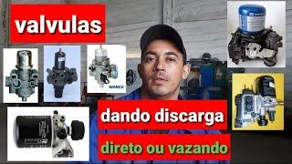 VALVULAS SECADORAS E REGULADIRA DE PRESSAO.BALAO NAO ENCHER.