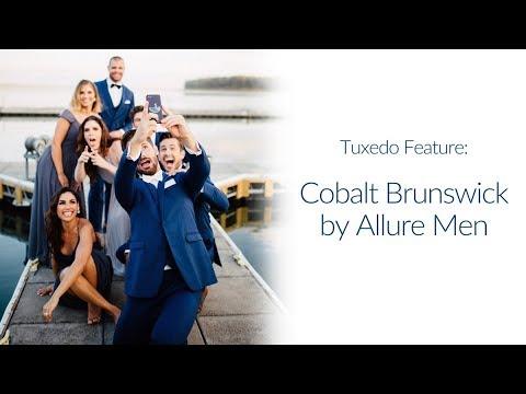 aec850e8d2b2 Tuxedo Feature: Cobalt Blue Brunswick - YouTube