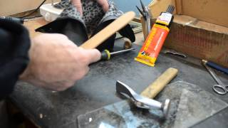 РЕМОНТ ОБУВИ - ЗАМЕНА  СУПИНАТОРА(Это видео о том ,как я меняю супинатор., 2015-04-10T15:11:34.000Z)