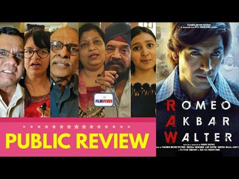 RAW - Romeo Akbar Walter Movie PUBLIC REVIEW | John Abraham, Mouni Roy, Jackie Shroff | RAW Review