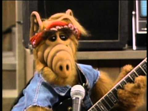 The Muppets - Alf Rock and Roll Video (Your the one whos out of this World)