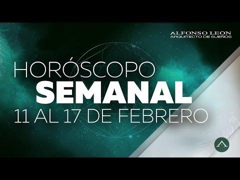 HOROSCOPO SEMANAL | 11 AL 17 DE FEBRERO | ALFONSO LEÓN ARQUITECTO DE SUEÑOS