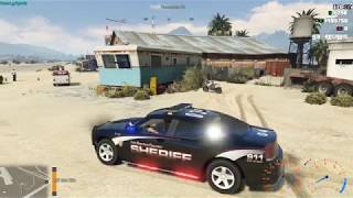 GTA 5 CADOJ ESX LAW ENFORCEMENT RP ROAD TO 200 SUBS!!!!!!