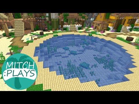 Koi Pond - Mitch Plays Minecraft - Ep 386
