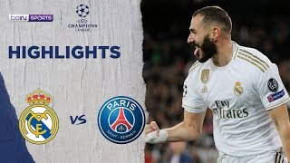 Real Madrid 2-2 PSG | Champions League 19/20 Match Highlights