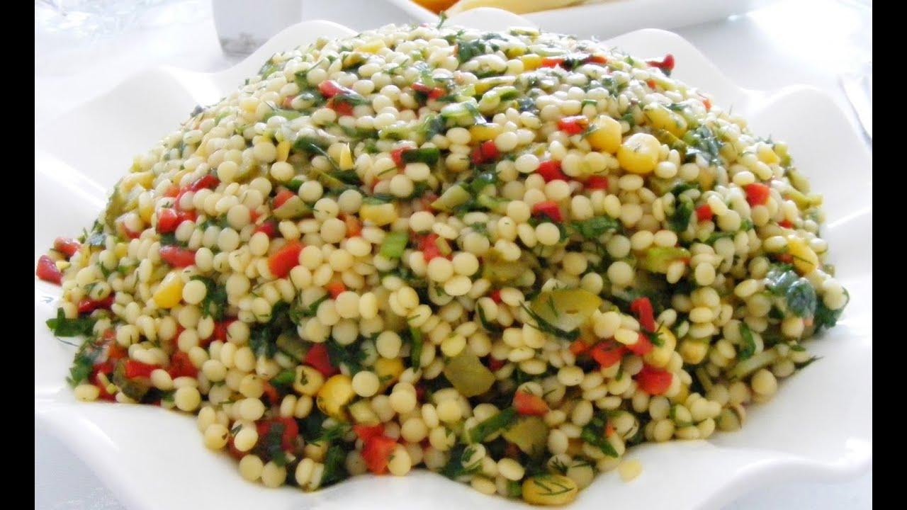Kuskus Salatası ve Elma Reçeli Tarifi - YouTube