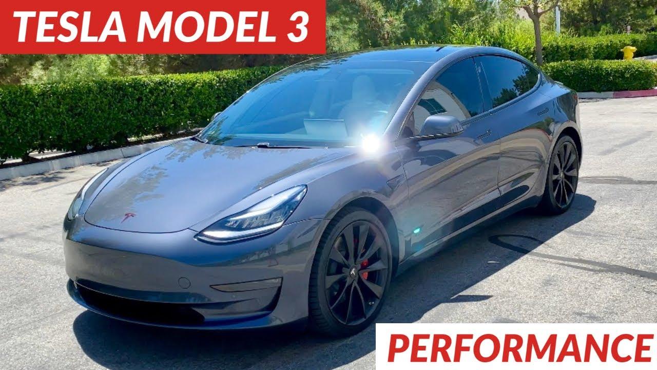 Tesla Model 3 Performance 0-60 Overview - YouTube