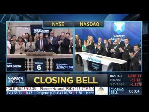 Pathway Genomics rings closing bell | CNBC Closing Bell 1 ...