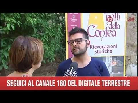 LE NOTTI DELLA CONTEA 2015 - servizio TGNORBA 24