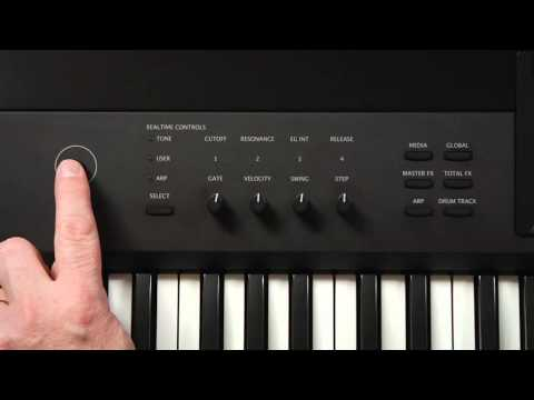 Korg Krome Video Manual -- Part 1: Introduction and Navigation