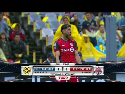 Champions League Match Highlights: Toronto FC at Club América (Leg 2)