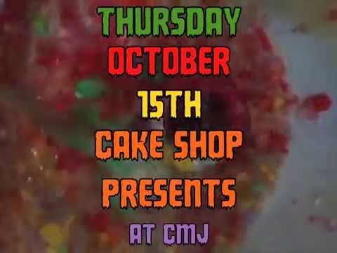 THURSDAY OCTOBER 15th, CAKE SHOP's CMJ NIGHT SHOWCASE: Mp3