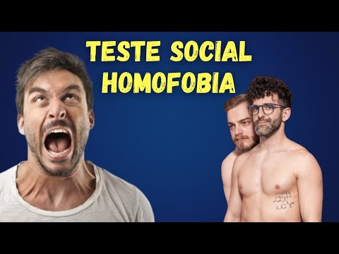 HOMOFOBIA NA RUA - TESTE SOCIAL