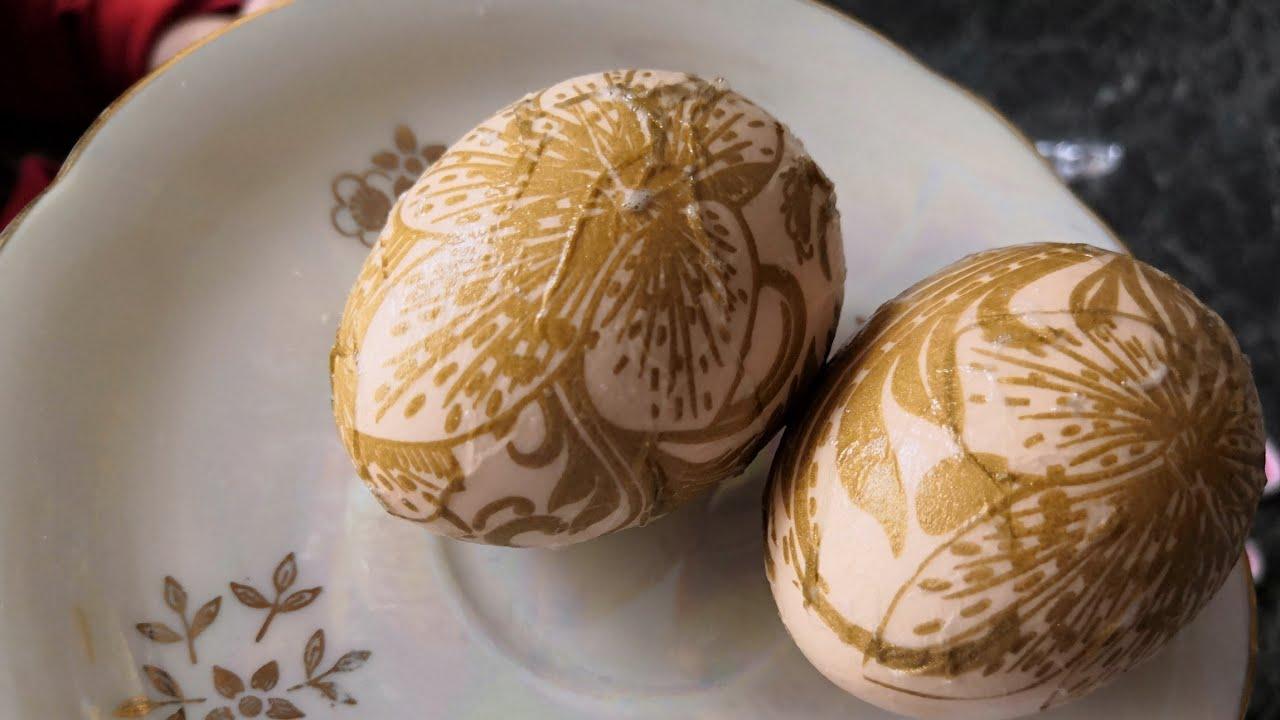 Необычно Красивые Яйца на Пасху / Irinochka HandMade - YouTube