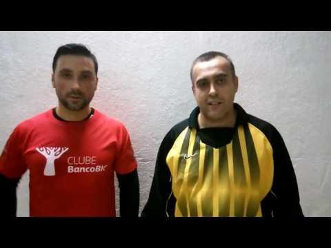 SNQTB Fut7 2016 Lisboa: Haitong (5) vs (2) BIC - Nuno Ramalho (Haitong) e Filipe Sá (BIC)