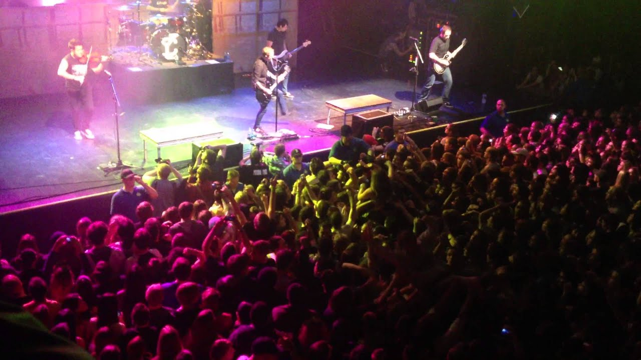 yellowcard - house of blues boston 11/18/2012 opening - youtube