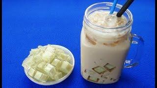 Món Ăn Ngon - THẠCH KHOAI MÔN uống trà sữa thích mê