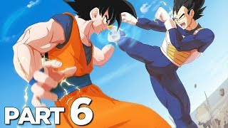 GOKU VS VEGETA in DRAGON BALL Z KAKAROT Walkthrough Gameplay Part 6 (FULL GAME)