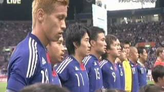 Ayaka Hirahara Sings National Anthem.