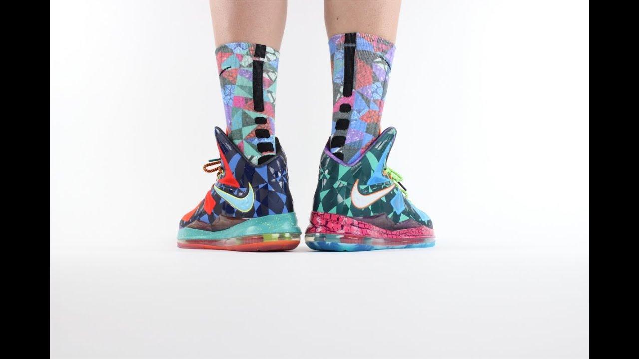 "Nike Lebron 10 ""What The MVP"" ON FEET Review - YouTube Lebron 10 What The Mvp"