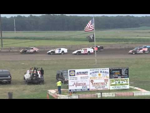 Shadyhill speedway UMP modified heat - Jon Robbins #10