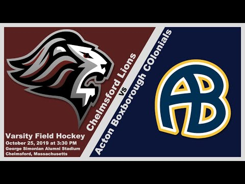 CHS Lions Varsity Field Hockey vs Acton Boxborough Oct. 25, 2019