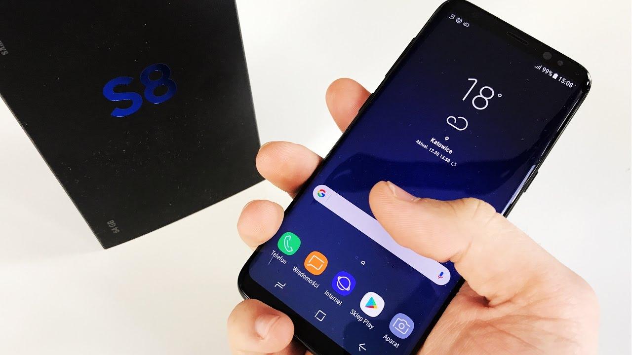 GALAXY S8 – Największy konkurent iPhone'a już u mnie! | UNBOXING