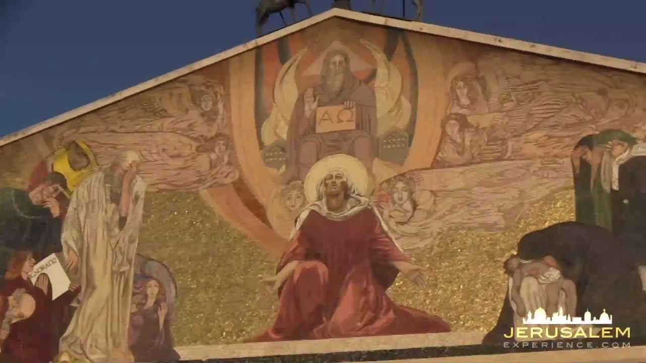 Church of All Nations Jerusalem - Jesus Agony in the Garden.mov ...