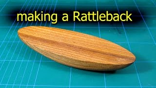 Make A Wooden Rattleback - Small Woodworking Project