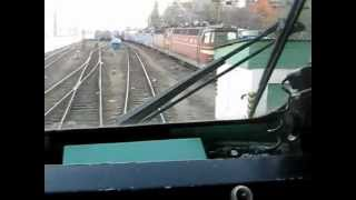 Кабина электровоза ЧС4-132(Видео снято из кабины ЧС4-132., 2012-07-17T08:46:03.000Z)