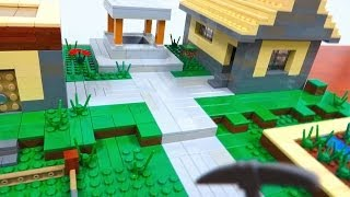 LEGO Minecraft Village
