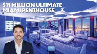 $11 Million Ultimate Miami Penthouse | Jeff Miller Group