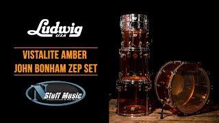Ludwig John Bonham Zep L8264LX Vistalite 5 Piece Drum Set