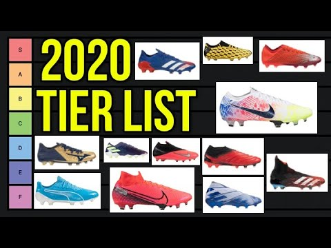 ULTIMATE 2020 FOOTBALL BOOT TIER LIST