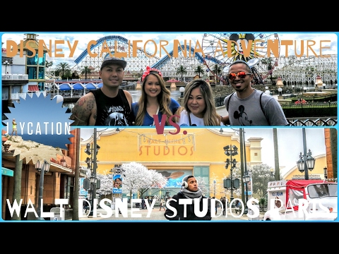 Walt Disney Studios Paris vs. California Adventure | Disney Theme Parks Travel Guide
