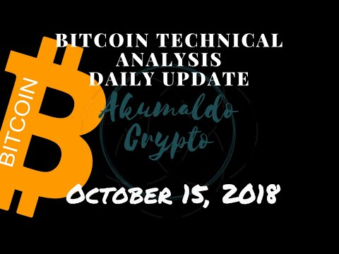 Bitcoin Technical Analysis - Is It The End Of The Correction?[October 15, 2018]