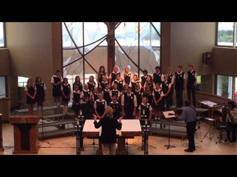 St Joachim School at 2015 Choral Festival Performing Bridge Over Troubled Water