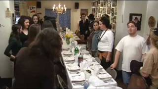 Shabbat at Chabad House on Campus