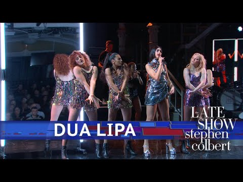 Dua Lipa Performs IDGAF