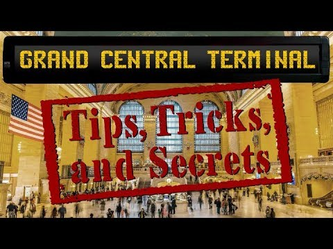 Exploring Grand Central Terminal in NYC- Tips, Tricks, and Secrets !