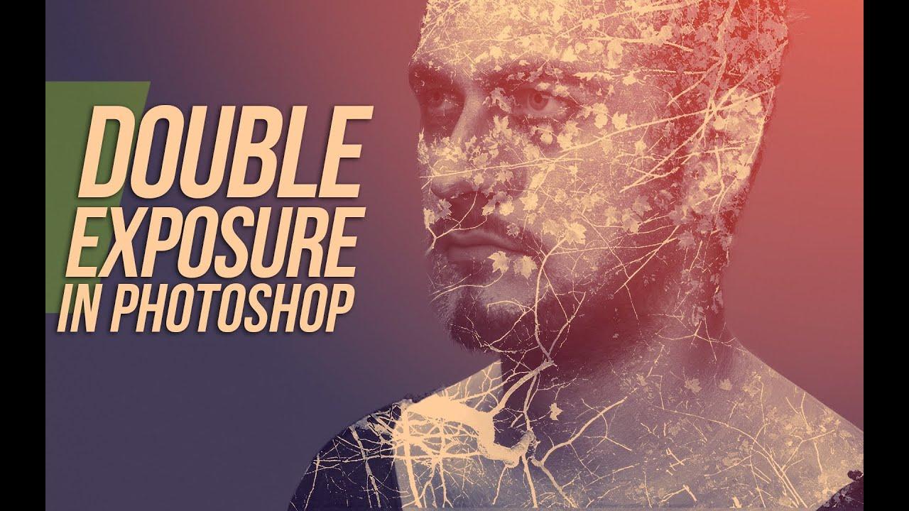Double Exposure In Photoshop Tutorial - YouTube
