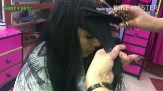 Layered Hair cut/💇♀️💇♀️Full layer hair cut front &Back Seema jaitly