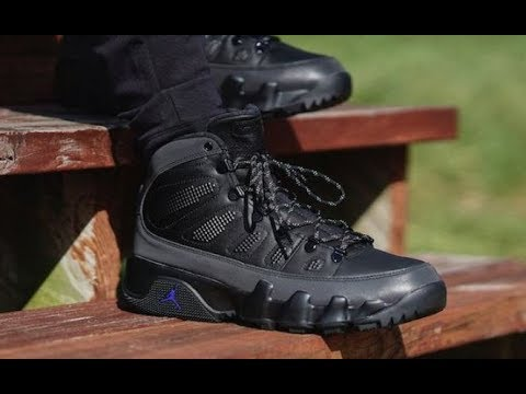 finest selection def85 8f98b AIR JORDAN 9 IX BOOT RETRO REVIEW