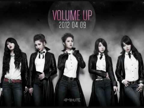 4Minute-Volume Up(Chorus) +DL link