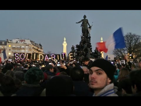 """JE SUIS CHARLIE"", I am Charlie - Paris - January 11, 20015"