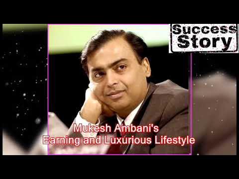 Mukesh Ambani - India richest man lifestyle, net worth, cars, planes, house.