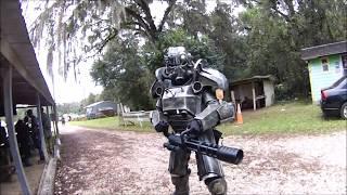 Fallout Airsoft Power Armor JUGGERNAUT! (Wasteland 11)